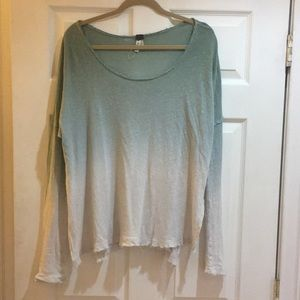 Free People Flowy Shirt